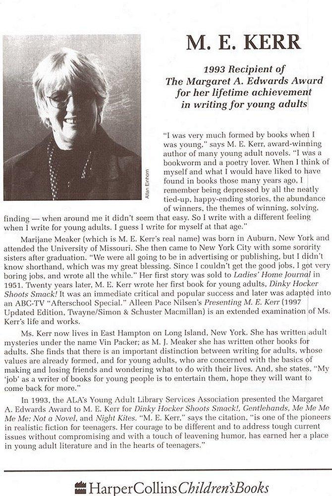 About M. E. Kerr
