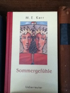Sommergefühle - Someone Like Summer hardback German cover