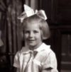 "M. E. Kerr at age 7."" width="